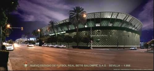 Accede a la sección dedicada al Proyecto del Nuevo Estadio del Real Betis Balompié, con imágenes y vídeo del proyecto.