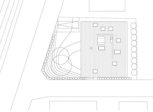 plano tejado casa