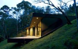 Refugios con cubiertas verdes