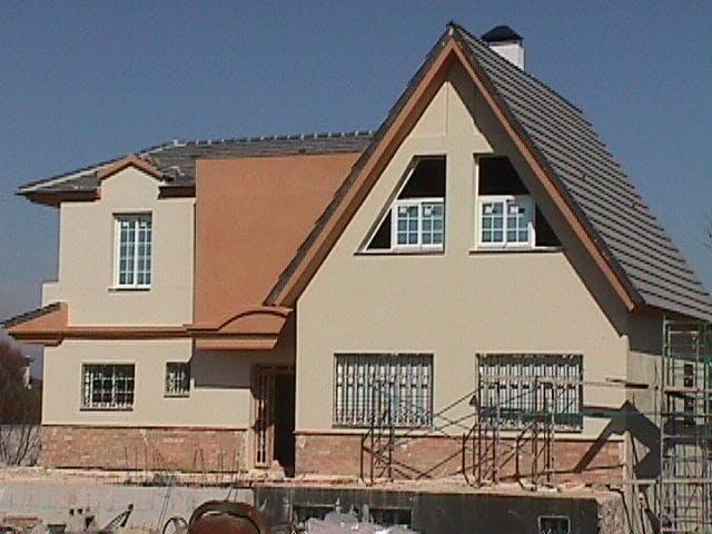Is arquitectura vivienda cullar vega revestimiento - Mortero monocapa colores ...