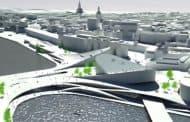Propuesta de BIG para Slussen (Estocolmo)