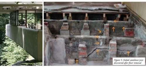 fisuras y deformaciones casa de la cascada