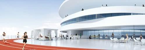 pista atletismo hotel helix abu dhabi