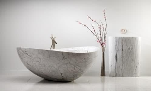 Ba eras de piedra natural para cuartos de ba o de lujo - Baneras de piedra ...