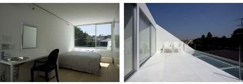 dormitorio principal y terraza