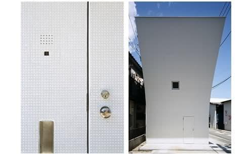 puerta acceso y fachada