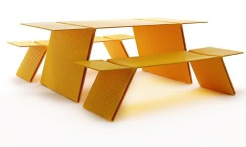 Zigzag muebles ecol gicos de dise o para el jard n joel - Muebles fibra sintetica ...