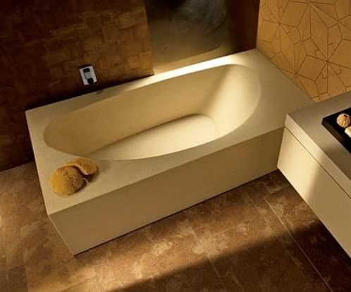 bañera de piedra