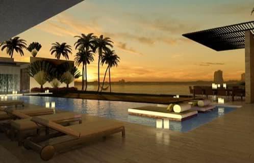 Casa de lujo en miami con piscina estanques y cascada de for Casas de lujo en miami