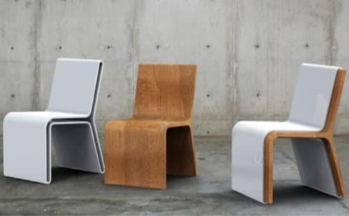 silla-guarda, una silla dentro de otra
