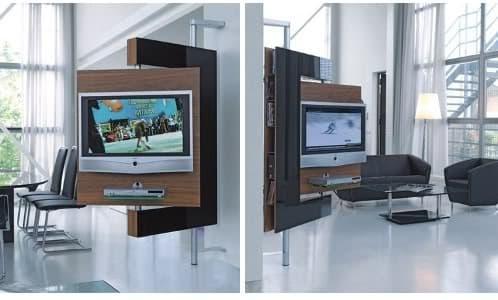 Two vision mueble soporte para el televisor - Mueble giratorio tv ...