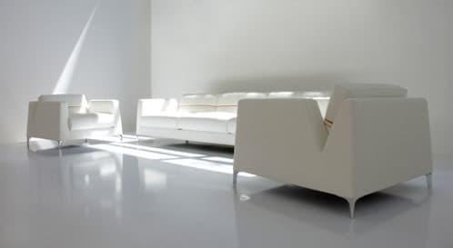 elegante y sencillo sofá de diseño