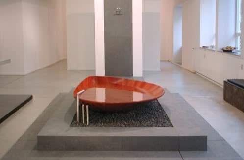 bañera de madera de Bagno Sasso
