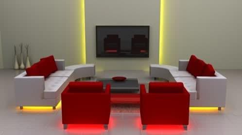 decorando con luces LEDs