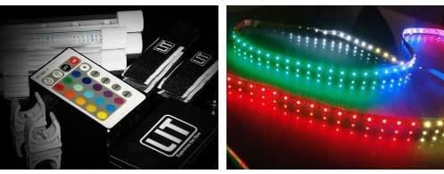tira de LED y KIT Urban Underglow de LIT