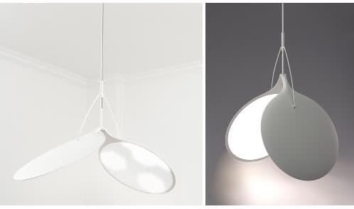 versión lámpara de colgar