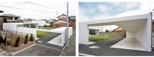 Fu 1 house casa japonesa minimalista en blanco ayika for Casa minimalista japonesa