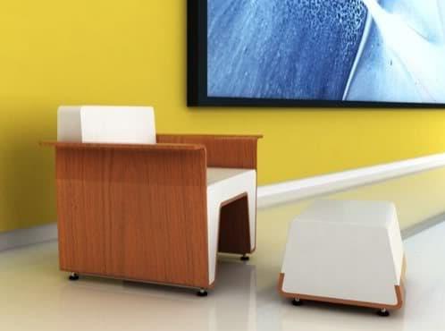 sillón moderno Waltz