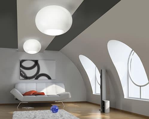 lamparas de vidrio soplado de murano