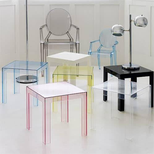 muebles transparentes de policarbonato