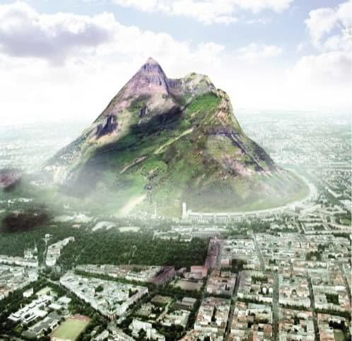 the berg la montaña de berlin