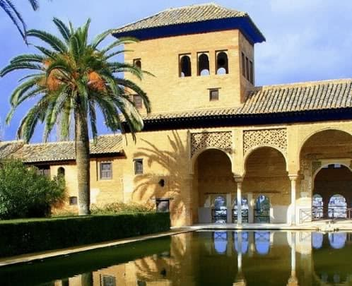 palacios y jardines de La Alhambra
