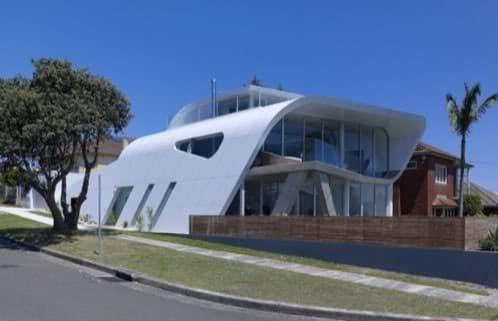 vivienda futurista en Australia