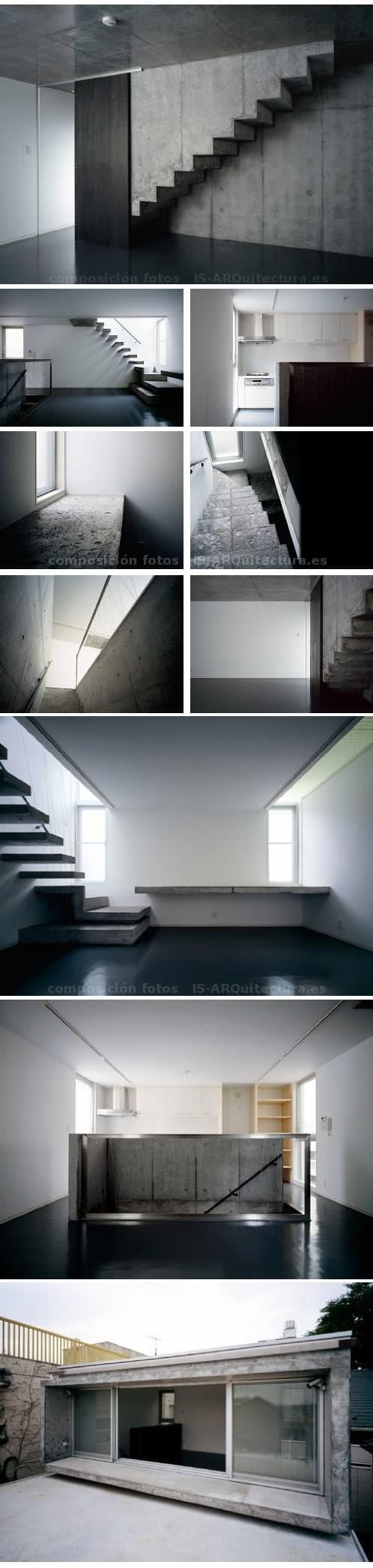 interior casa pequeña Nakano