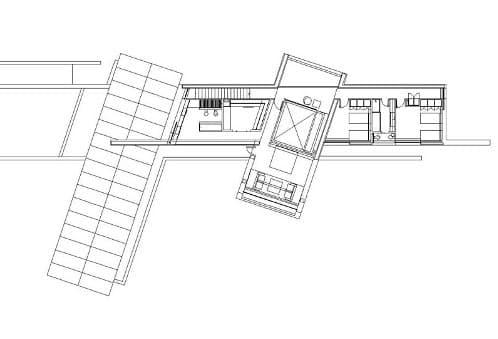 plano planta alta de casa Santander A-Cero