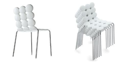 Mint colecci n de sillas mesa y taburete para la cocina for Sillas blancas apilables