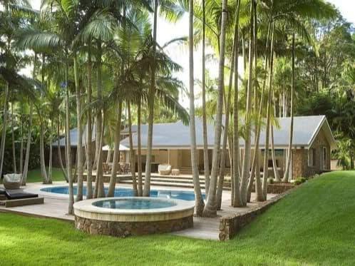 casa en un sitio paradisiaco tropical