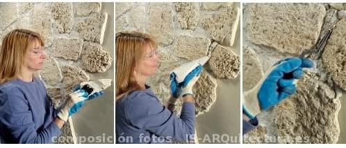 Revestimientos de piedra artificial prefabricada for Piedra artificial decorativa