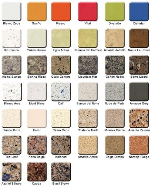 Fregadero y encimera en una pieza de silestone - Encimeras de colores ...