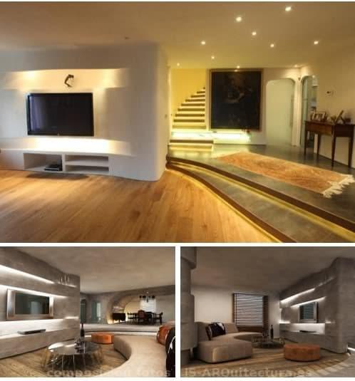 pruebas RENDER decoración sala de estar