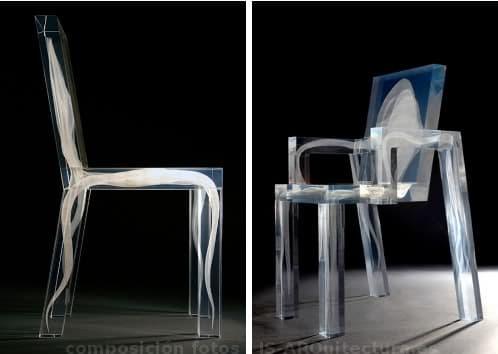 Sillas ghost en acr lico de design drift for Sillas de acrilico