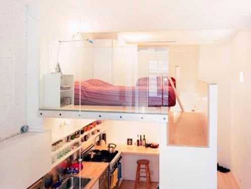 apartamento con altillo especial en NY