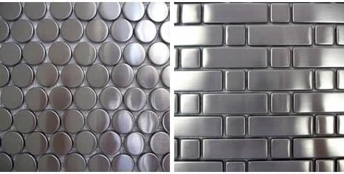Mosaicos metálicos de DT Tiles