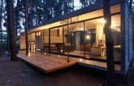 CHER: casa de vacaciones en un bosque