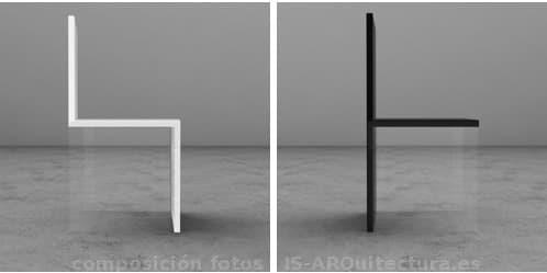Magica chair sillas minimalistas con paneles de acr lico for Sillas de acrilico