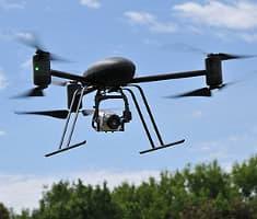 Helicópteros RC para grabación de vídeo