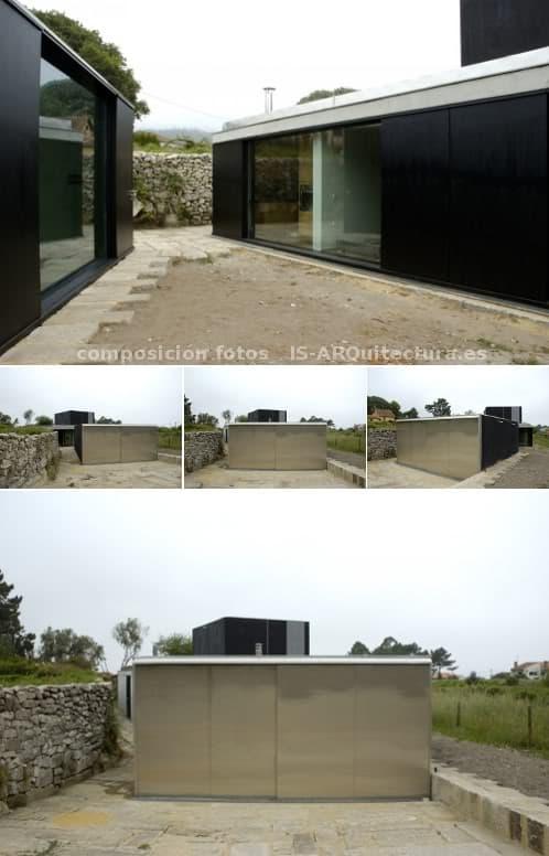 Moderna casa con oficina en el medio rural for Oficina virtual medio rural