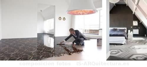 Pavimento de resina con efecto 3d marcel wanders - Resina para paredes ...