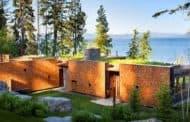 Refugio junto al lago Flathead (Montana)