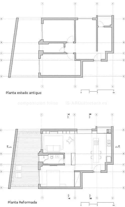 plano-planta-reformada-apartamento Langhammer