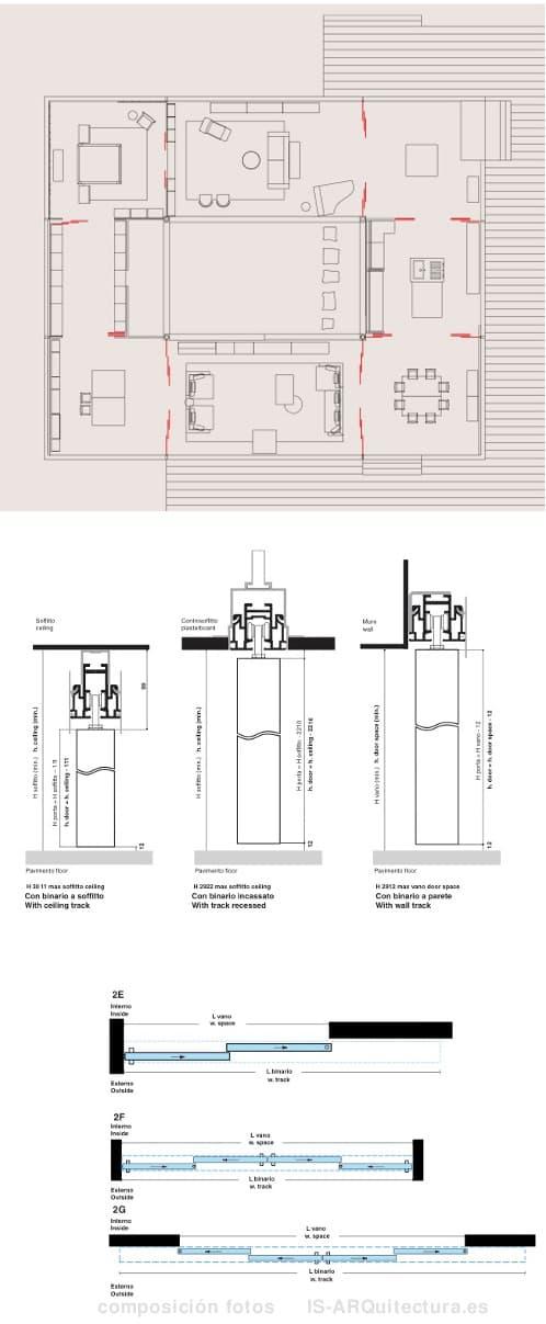 GLIDE: puertas correderas para separar espacios - photo#42