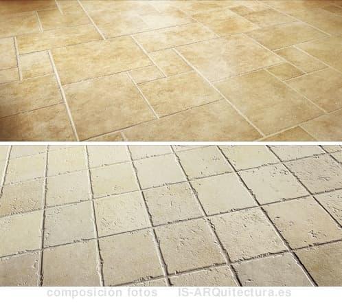 Pavimento de gres porcel nico imitando piedra antigua - Pavimento gres porcelanico ...
