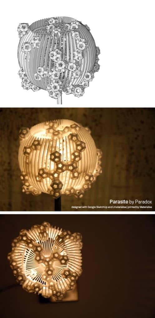 Lámpara Parasite