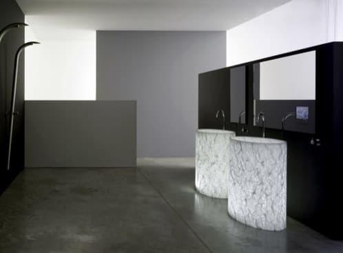 lavabo-de_pie-con_luz interior hecho de Alicrite