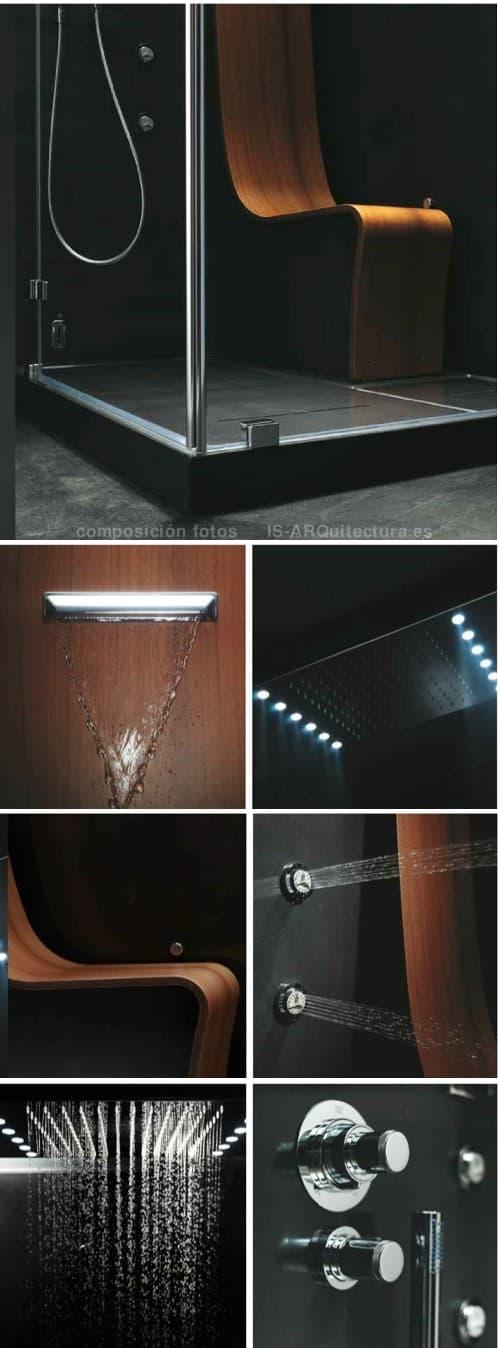 Cabinas De Ducha Jacuzzi:OMEGA: una cabina de ducha de LUJO y de edición limitada