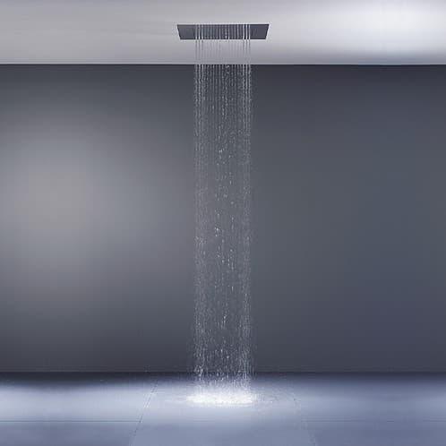 Big rain sencilla placa para convertir la ducha en una lluvia for Ducha lluvia